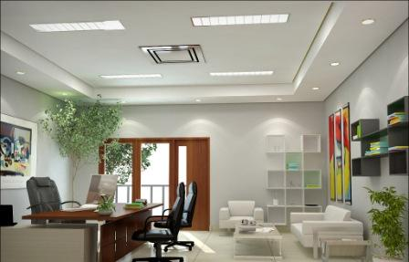 ruang kerja menurut feng shui