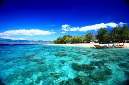Gili Trawangan Tempat Wisata Romantis di Nusa Tenggara Barat