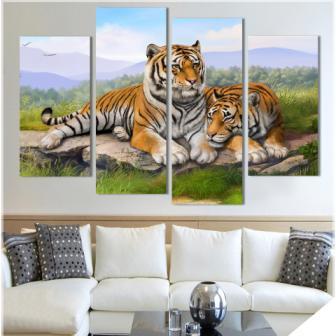 Lukisan Yang Cocok Untuk Ruang Tamu Menurut Feng Shui