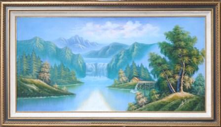 Lukisan di Tempat Tidur Menurut Feng Shui