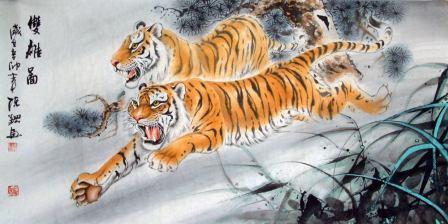 Lukisan macan