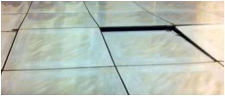 mengapa lantai keramik terangkat