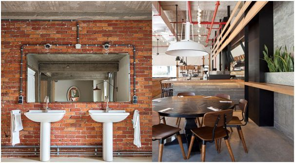 Konsep Gaya Design Interior Industrial