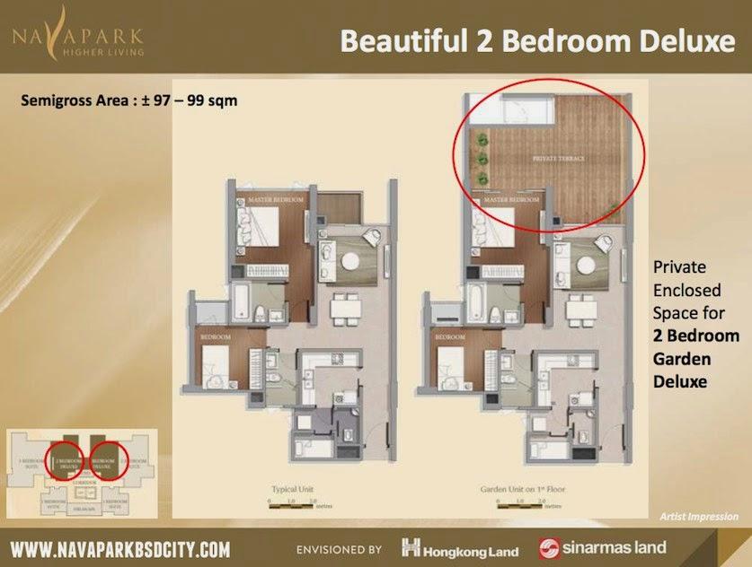 apartemen marigold deluxe