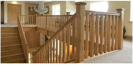 railing kayu