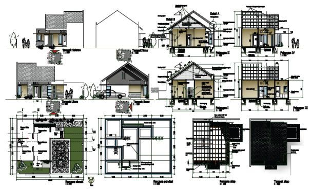 Jenis Gambar Pada Proses Konstruksi